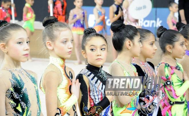 Bakıda bədii gimnastika üzrə yarışlar keçirilir