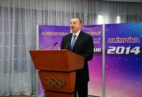 Azərbaycan prezidenti Marina Durundanı mükafatlandırdı