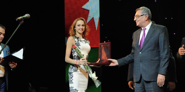 Марина Дурунда названа лучшей спортсменкой года