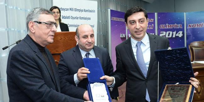 Мехрибан Алиева удостоена премии в номинации Лучший спортивный деятель года