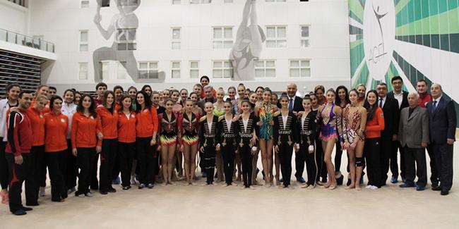 В Баку прошло первое заседание Исполнительного Комитета Федерации гимнастики Азербайджана
