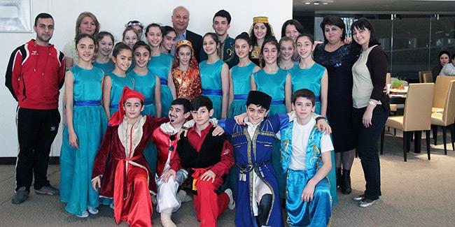 Milli Gimnastika Arenasında Novruz bayramı qeyd edilib