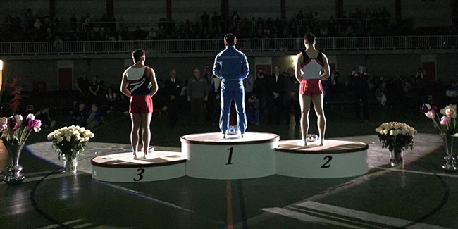 Piunov and Grishunin enter top ten best trampoline gymnasts