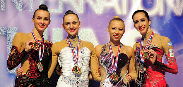 Triumph of our gymnasts in Europe