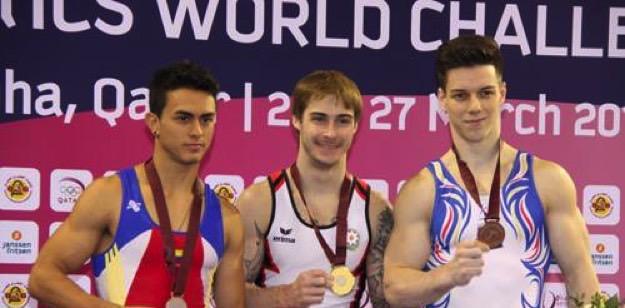 Oleg Stepko wins gold medal