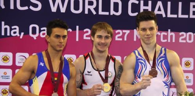 """Oleq Stepko """"World Challenge Cup""""ın qızıl medalını qazandı"""