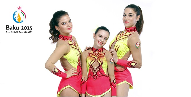 Akrobatika qrupu: Avropa Oyunlarına hazırlıq
