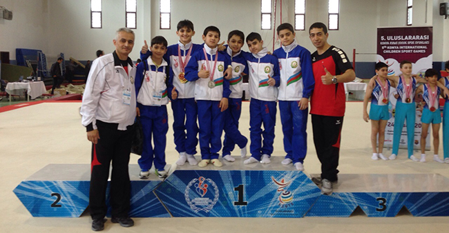 Five medals from Turkey