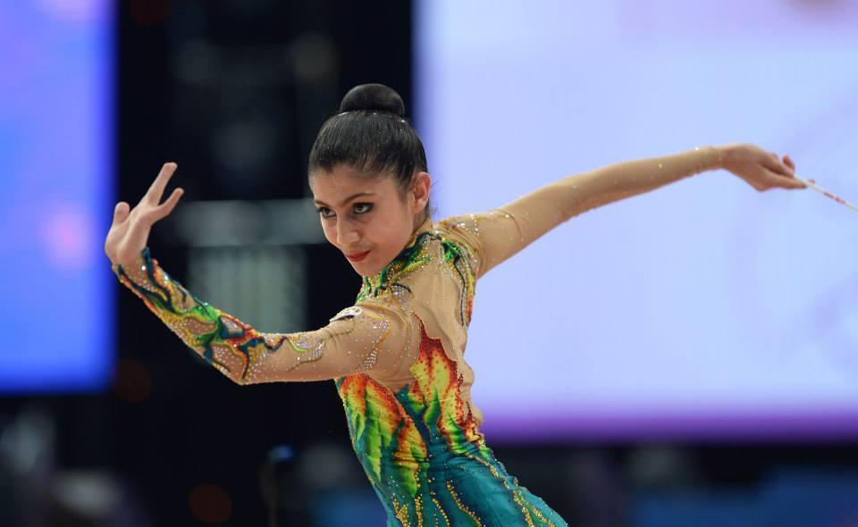 Tashkent and Anadia - last week's destination of Azerbaijani gymnasts