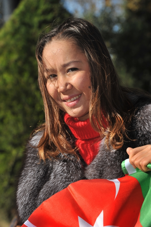"""ALIYA GARAYEVA: """"I HAVE ENOUGH STRENGTH TO COMPETE FOR THE OLYMPIC AWARDS IN LONDON"""""""