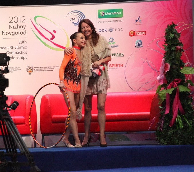 IT IS SO GREAT TO STAND ON THE PODIUM!..