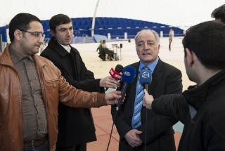 GEORGES GUELZEC: THE EUROPEAN CHAMPIONSHIPS IN BAKU TO BE A TEST EVENT PRIOR TO THE EUROPEAN GAMES
