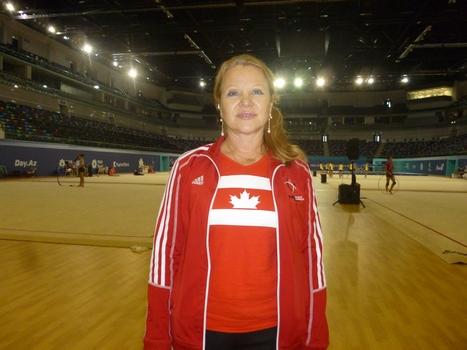 Svetlana Jukova: Milli Gimnastika Arenasının ab-havası məhsuldar məşqlərə şərait yaradır