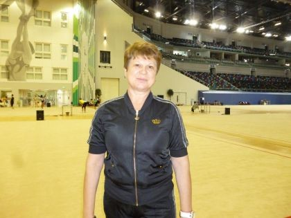 Ekaterina PANCHENKO: We come in Baku not only to train but also to learn