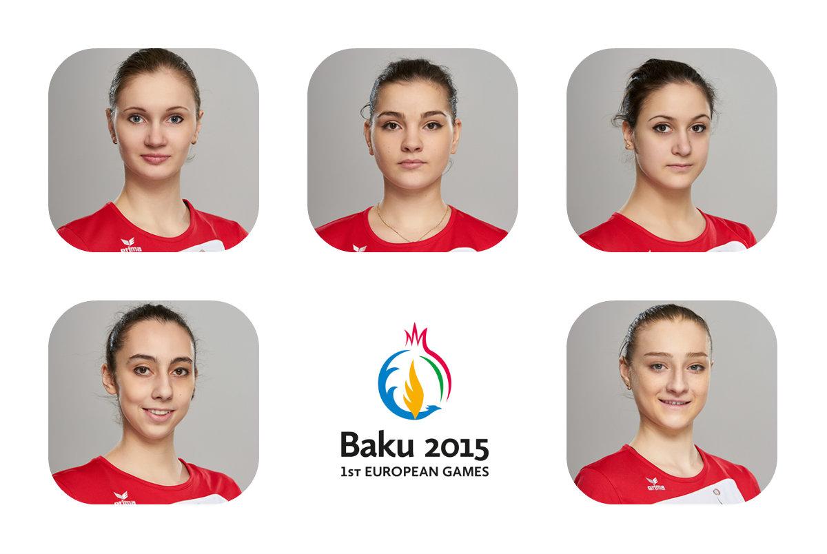 """Команда по групповым упражнениям по художественной гимнастике: """"Мы гордимся что Первые Европейские Игры пройдут у нас в Баку"""""""