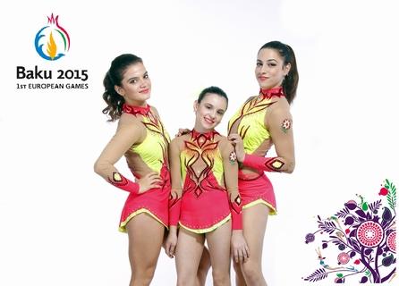 Akrobatika qrupu – Biz Avropa Oyunlarına fasiləsiz hazırlaşırıq