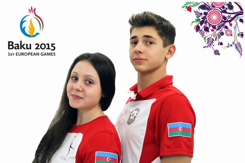Mixed pair on aerobics: At the moment we have one goal - European Games