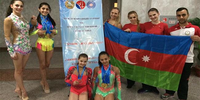 Qazaxıstandan qızıl medal