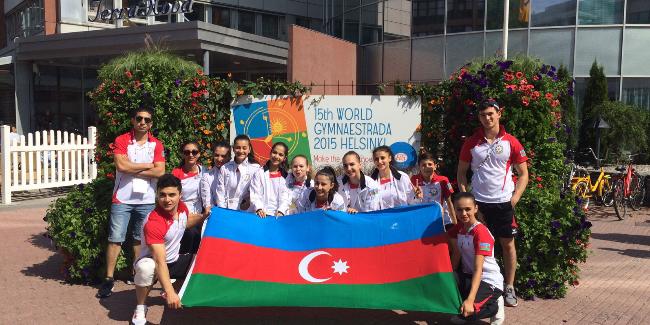 Azərbaycan gimnastları ilk dəfə Gimnastradada!