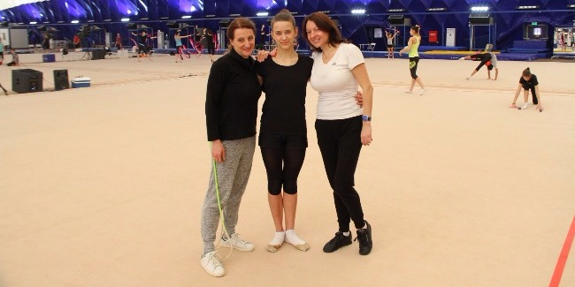 """Dara Terzic: """"I have been in gymnastics whole my life but I never has had such a feeling"""""""