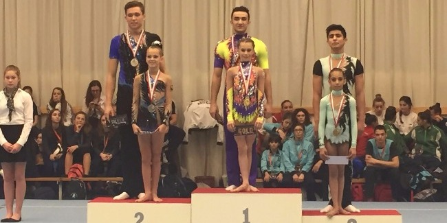 """""""GOLD"""" AND """"BRONZE"""" OF THE NEW SEASON'S FIRST TOURNAMENT IN ACROBATICS"""