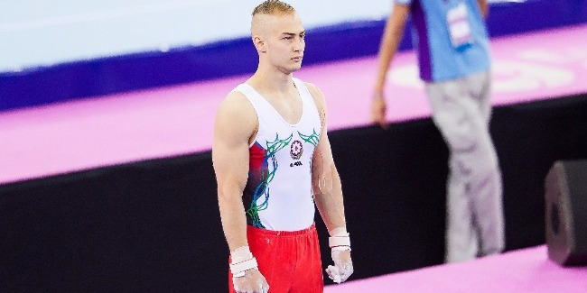 """An Azerbaijani gymnast: """"Our work at trainings to show itself during the competitions"""""""