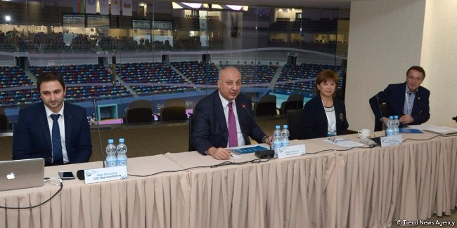 Orientation Meeting of heads and representatives of delegations participating in the FIG World Challenge Cup in Artistic Gymnastics in Baku (PHOTOS)