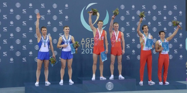 Baku's World Cup in Trampoline Gymnastics comes to an end