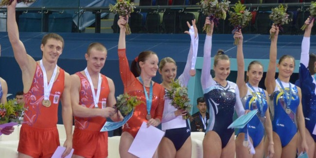 Athletes highly valued organization of the FIG World Cup in Trampoline Gymnastics in Baku