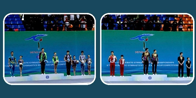 HISTORICAL SILVER MEDALS OF ACROBATS! – ON WORLD LEVEL THIS TIME