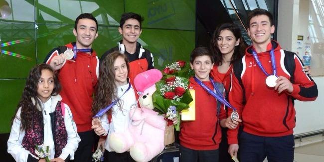 Будем и дальше работать для достижения хороших результатов - азербайджанский гимнаст (ФОТОРЕПОРТАЖ)
