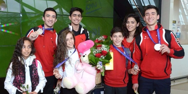 """""""We will  further continue trainings to achieve good results"""" – an Azerbaijani gymnast (PHOTOS)"""