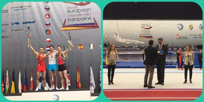 BRONZE MEDAL OF THE EUROPEAN CHAMPIONSHIPS AND HANDOVER OF FLAG TO AZERBAIJAN
