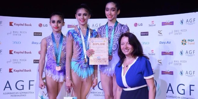 RHYTHMIC AND TRAMPOLINE GYMNASTS' JOINT COMPETITION COMES TO AN END