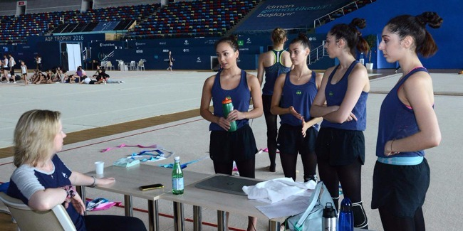 FIG RHYTHMIC GYMNASTICS WORLD CUP FINAL IN BAKU TO BE ORGANIZED AT THE HIGHEST LEVEL - COACH OF THE U.S. NATIONAL TEAM