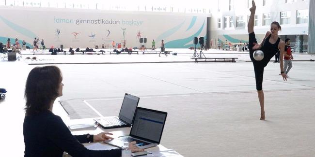 В Баку очень хорошие условия для подготовки к соревнованиям Кубка мира по художественной гимнастике - глава эстонской делегации