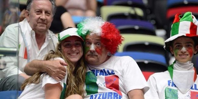 Благодарим Азербайджан за высокую организацию Кубка мира по художественной гимнастике - болельщик из Италии
