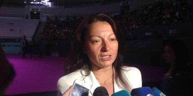 Главный тренер сборной Азербайджана по художественной гимнастике довольна выступлениями своих спортсменок