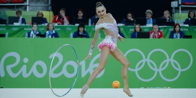 OLYMPICS DEBUTANT MARINA DURUNDA WITHIN TOP TEN OF THE STRONGEST GYMNASTS OF THE WORLD