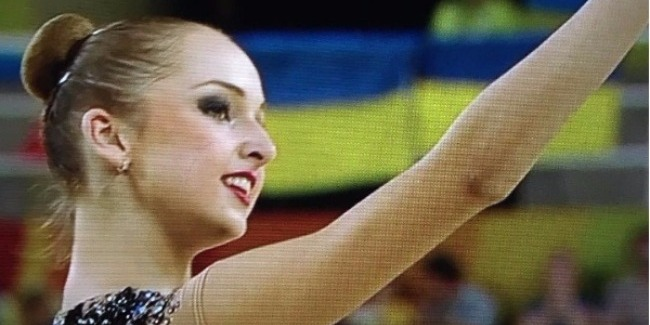 RHYTHMIC GYMNASTS' CONTEST IN INDIVIDUAL ALL-AROUND WRAPS UP