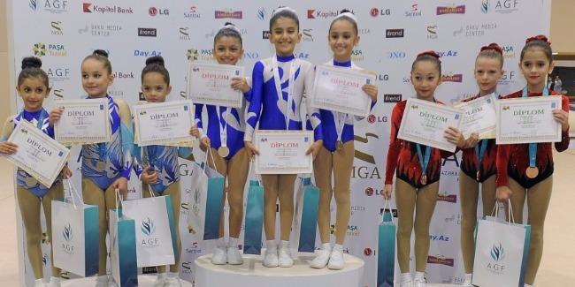 2nd Azerbaijan and Baku Championship among Age Categories in Aerobic Gymnastics