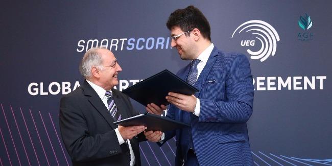 """UEG və """"SmartScoring"""" arasında tərəfdaşlığa dair diqqətəlayiq saziş imzalandı"""