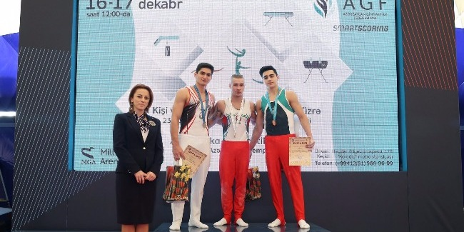 Bu ilin son gimnastika yarışında qaliblər müəyyənləşdi
