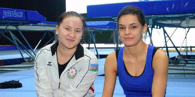 Azerbaijani female gymnasts ready for FIG Baku World Cup