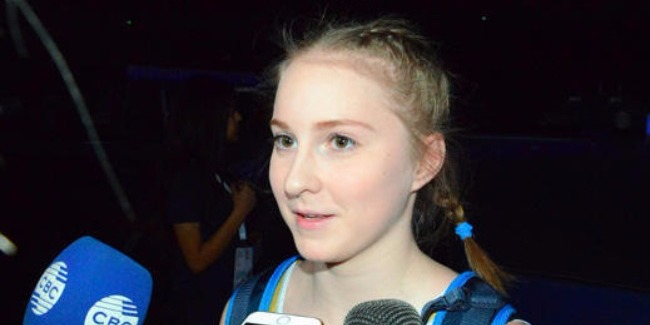 Russian gymnast enjoys performing in Azerbaijan