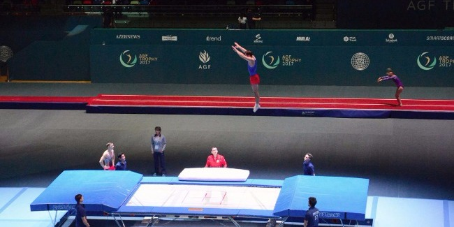 First day of FIG World Cup kicks off in Baku