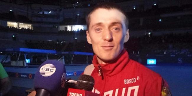 Russian gymnast impressed by World Cup in Baku