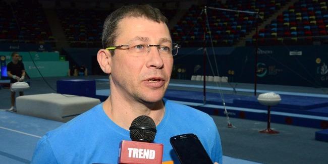 На соревнования в Баку всегда приезжаем с удовольствием - израильский тренер