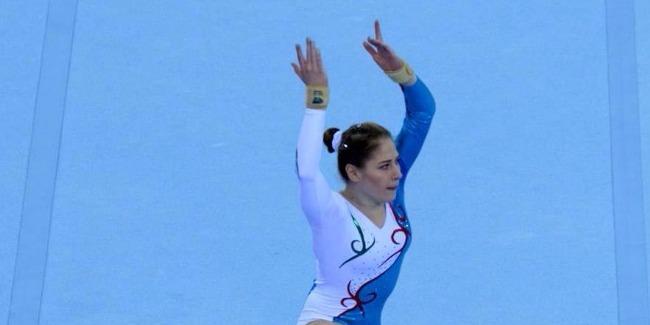 Azerbaijani gymnast advances to finals at Baku World Cup