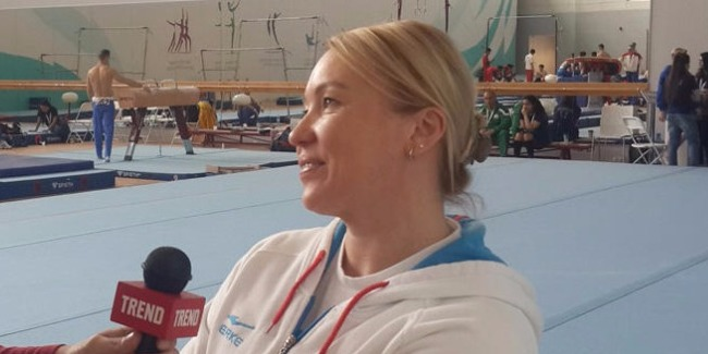 Dünya çempionu: Azərbaycanda gimnastika daha da inkişaf edəcək